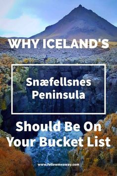 The Ultimate Guide To Exploring Iceland's Snæfellsnes Peninsula | Iceland Travel Tips | Iceland On A Budget | What To Do In Iceland | Tips For Traveling To Iceland | Budget Travel To Iceland | Cheap Travel To Iceland | The Best Of Iceland | Follow Me Away Travel