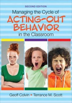 Minimize problem behavior and maximize student success! Acting-out behavior by students manifests in ways that make classroom management and teaching very challenging. Building on a model using seven