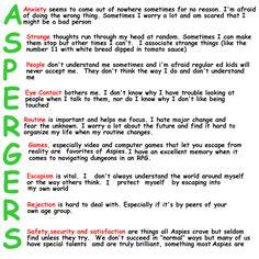 Aspergers Awareness. - Imgur