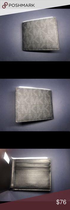291fe60cda3f MICHAEL KORS | Slim Billfold A logo print adds bold signature style to this Michael  Kors