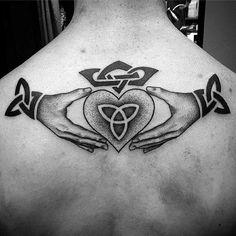 50 Claddagh Tattoo Designs For Men - Irish Icon Ink Ideas Celtic Tattoo For Women Irish, Celtic Tattoos For Men, Tattoos For Guys, Tattoos For Women, Irish Celtic, Phoenix Tattoo Design, Skull Tattoo Design, Dragon Tattoo Designs, Tribal Tattoo Designs
