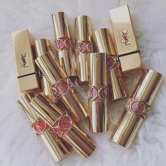 #ysl lipsticks