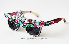 I could never, but I can't stop staring at them. Princess Multi Rhinestone Deco Stunner shade by PrettyRockGirl