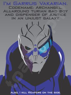 Mass Effect - Garrus Vakarian by toasterpip on deviantART