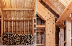 Long Sutton Studio - Cassion Castle Architects - Tom Lloyd - Timber Framing Detail - Humble Homes