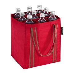 Da finden die Partygetränke zur #Fußball Party ihren Platz #bottlebag #reisenthel