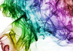 Fondo de Pantalla de Humo, Colorido, Arcoiris, Movimiento, Efímero