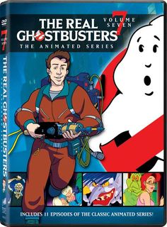 The Real Ghostbusters DVD news: Announcement for Sony Volumes 6 through 10…