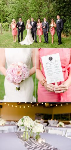 Kristin + Bo: Pink and White Classic Summer Winery Wedding by Seneca Epley Photography