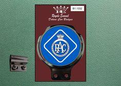 Royale Classic Car Badge & Bar Clip ROYAL AUTOMOBILE ASSOCIATION B1.1332