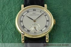 IWC Portofino 18k Gold Handaufzug Kal. 4231 Ref. 2533  | 151728