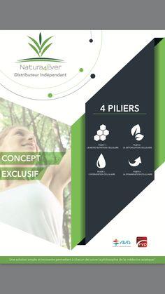 Concept unique et innovants des 4 Piliers de la Régénération Cellulaire !