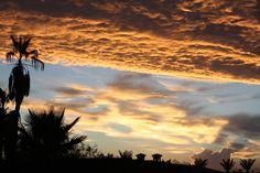 Summer sunset, Scottsdale, Arizona.                               #arizona #desert #sunset