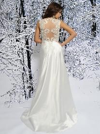 Wedding Stores Bridal Shops that have carry Eden Bridals Wedding Gowns Dresses in Atlanta Georgia Gwinnett DeKalb Cobb Rockdale Fulton County Style Silver Label with Beautiful Gorgeous Romantic Detailed Back