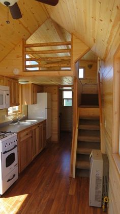 A 224 square feet tiny house on wheels in Delta British Columbia