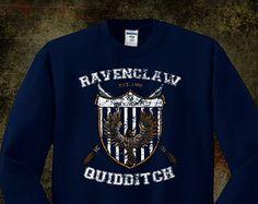 Ravenclaw Quidditch Crewneck Shirt on Etsy