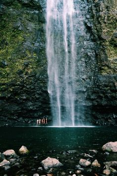Finding waterfalls