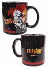 Fairy Tail: Natsu and Happy Fired Up Mug - Official Fairy Tail mug. Mug features Natsu and Happy.