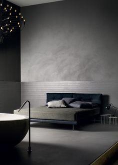 Indoor cement wall tiles WALLCRETE (WCR) - Kerakoll Design House