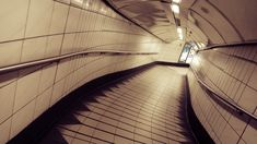 James Whatley likes to take photos of the London Underground when it's deserted, with surprisingly powerful results.