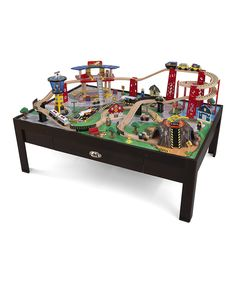 Love this KidKraft Airport Express Table Train Set by KidKraft on #zulily! #zulilyfinds