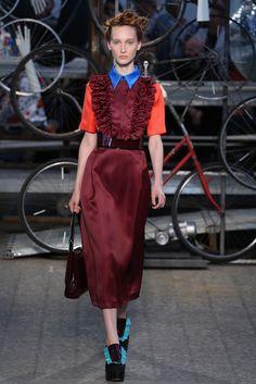 Antonio Marras Spring 2015 Ready-to-Wear  Inspiration: radical Italian artist Carol Rama, Rama's life and work