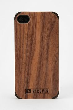 Recover Wood iPhone Case  #UrbanOutfitters.  Can't decide between this one and the lighter one?