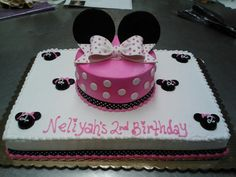 Minnie Mouse Sheet Cake | Hermans Bakery and Deli - Miscellaneous Cakes Gallery