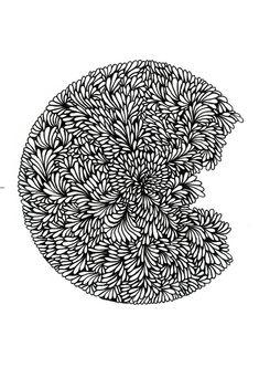 Interieur poster, A4 formaat, muurdecoratie/wanddecoratie. Prachtige poster met een doodle DOT, geschikt voor in elke woonkamer, keuken of slaapkamer.   Te koop op ETSY! Drawing Reference, Line Drawing, Beautiful Posters, Line Art, Most Beautiful Pictures, Told You So, Doodles, Dots, Drawings