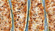 Kdyjindy nežvlétě bysemělo vařit hlavně zezeleniny – právě teďjedostupná, čerstvá aplná chuti! Akdyž jinavíc doplníte originálními náplněmi, máte nasvětě voňavou večeři. Zkuste plněnou cuketu! Lasagna, Pizza, Cheese, Ethnic Recipes, Fit, Shape, Lasagne