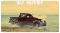 #UAZ #Patriot #Pickup