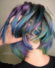 Glitter Undercut Hair Tattoo   POPSUGAR Beauty