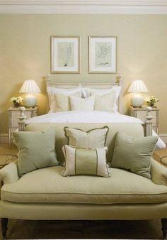 Beautiful plump soft upholstery is simply elegant here, Phoebe Howard
