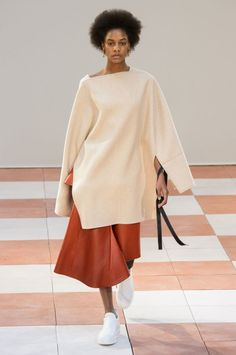 A look from Céline's fall 2015 collection. Photo: Imaxtree