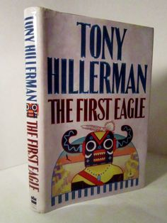 The First Eagle 1998 by Tony Hillerman, Navajo Tribal Police Mystery.  This mystery takes place in the Navajo Nation, Arizona, near the Four Corners area.  Two of Tony Hillerman's recurring characters are featured:        Joe Leaphorn, retired Navajo policeman and      Jim Chee, lieutenant Navajo Tribal Police.