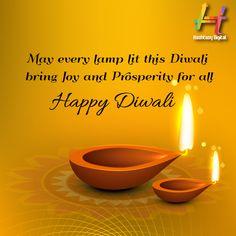 Wishing you all a very Happy Diwali! Diwali Festival, Happy Diwali, Lamp Light, Joy, Glee, Being Happy, Happiness