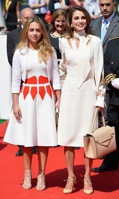 Queen Rania's lookalike daughter, Princess Iman, is following in her footsteps