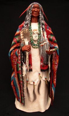 The Ancient Ones -- Native American Spirit Dolls