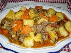 Receitas práticas de culinária: Jardineira à portuguesa