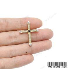 Mặt Thánh Giá - Trang 2 trên 4 - Thánh Giá Vàng - Bạc - Đá Quý - AMENGEMS - AGS Sapphire, Stud Earrings, Jewelry, Jewlery, Jewerly, Stud Earring, Schmuck, Jewels, Jewelery