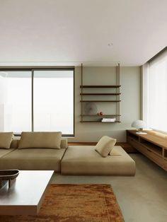 Living Room Modern, Living Room Decor, Living Spaces, Contemporary Interior Design, Modern Interior, Interior Exterior, Interior Architecture, Pierre Jeanneret, Furniture Arrangement