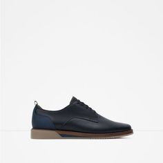 ZARA - MAN - CASUAL SHOES WITH CONTRAST SOLE