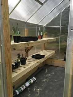 Building and Improving the Harbor Freight Greenhouse : 11 Steps (with Pictures) - Instructables Greenhouse Kits For Sale, Polycarbonate Greenhouse, Lean To Greenhouse, Backyard Greenhouse, Greenhouse Gardening, Greenhouse Ideas, Small Greenhouses For Sale, Greenhouse Supplies, Backyard Patio