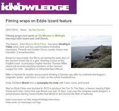24 July: Filming wraps next week. Eddie Izzard, Finishing School, Judi Dench, Next Week, Wraps, Rap Music, Rolls