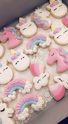 Unicorn cookies I did for a birthday party order! 2019 Unicorn cookies I did for a birthday party order! Unicorn cookies The post Unicorn cookies I did for a birthday party order! 2019 appeared first on Birthday ideas. Unicorn Themed Birthday Party, Rainbow Birthday, First Birthday Parties, Birthday Party Decorations, Girl Birthday, First Birthdays, Birthday Ideas, Unicorn Party Decor, Unicorn Birthday Cakes
