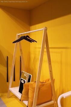 LADY_MaisonObjet_gul vegg_4 Wardrobe Rack, Toddler Bed, Yellow, Bedroom, Lady, Furniture, Design, Home Decor, Garage