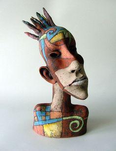 by Inna Olshansky Porcelain Doll Makeup, Porcelain Dolls For Sale, Fine Porcelain, Porcelain Ceramics, Painted Porcelain, Ceramic Sculpture Figurative, Sculpture Clay, Surrealism Photography, Masks Art