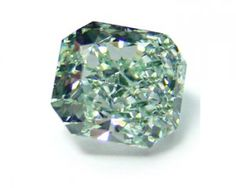 Green fancy diamond