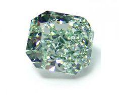 Green fancy diamond
