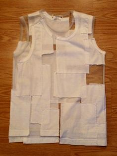 Comme Des Garcons Cut Out Shirt White Used | eBay